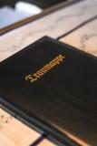 Hochzeitsbuch Lizenzfreies Stockfoto