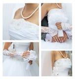 Hochzeitscollage Lizenzfreie Stockfotografie