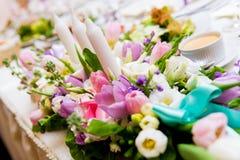 Hochzeitsdekoration lizenzfreie stockfotos