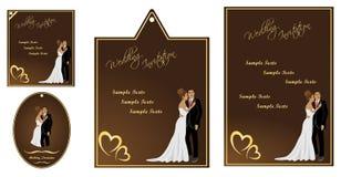 Hochzeitseinladung Lizenzfreie Stockbilder