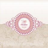 Hochzeitseinladungskarte Stockfotos