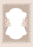 Hochzeitseinladungskarte Lizenzfreie Stockbilder