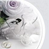 Hochzeitseinladungskarte lizenzfreie abbildung