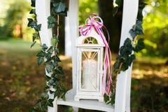 Hochzeitselement in der Natur Stockfotos