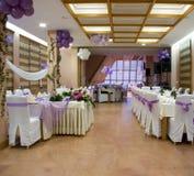 Hochzeitsempfang Stockbild