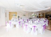 Hochzeitsempfang lizenzfreie stockfotografie
