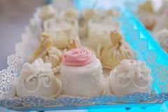 Hochzeitsempfang-Dekor Stockbild