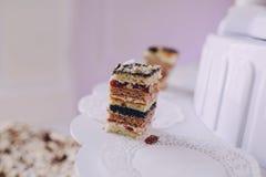 Hochzeitsempfang-Dekor Lizenzfreies Stockfoto