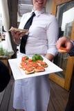 Hochzeitsempfang-Nahrung Lizenzfreies Stockfoto