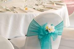 Hochzeitsempfangbildschirmanzeige Lizenzfreies Stockfoto