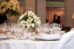 Hochzeitsfeier stockfotos