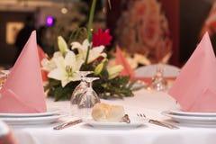 Hochzeitsfeier stockfotografie