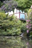 Hochzeitsfestbildgarten Lizenzfreies Stockbild