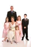 Hochzeitsfestportrait Lizenzfreie Stockfotos