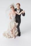 Hochzeitsfigürchen Lizenzfreies Stockbild