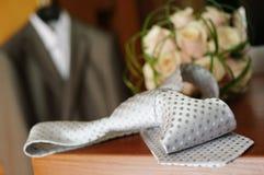 Hochzeitsfragment Stockfotografie
