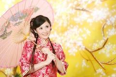 Hochzeitsfrauenportrait Lizenzfreies Stockfoto