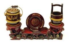 Hochzeitsgeschenk des traditionellen Chinesen Stockbild