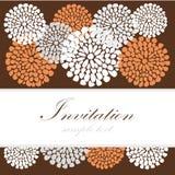 Hochzeitsglückwunschkarte oder -einladung mit Blumenhintergrund der abstrakten Spitzes, Grußpostkarte, Illustration Stockfoto