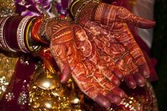 Hochzeitshände Lizenzfreie Stockfotos