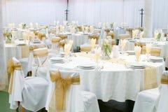 Hochzeitshalle Lizenzfreie Stockfotografie