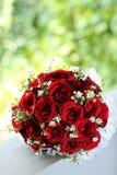 Hochzeitshandblumenstrauß Lizenzfreies Stockfoto