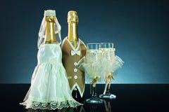 Hochzeitshintergrund Stockfotos