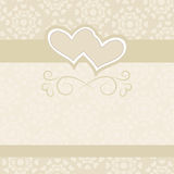Hochzeitshintergrund für Hochzeitseinladungen Stockbild