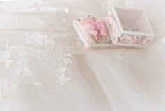 Hochzeitshintergrund unscharf Stockfotografie