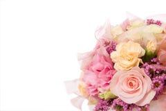 Hochzeitshintergrunddekoration Lizenzfreies Stockfoto