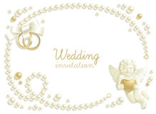 Hochzeitsjuwelhintergrund Stockfoto