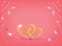 Hochzeitskarte Lizenzfreies Stockbild