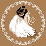 Hochzeitskarte 5 Stockbilder