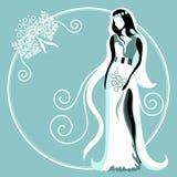 Hochzeitskarte 1 Lizenzfreies Stockfoto