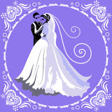 Hochzeitskarte 4 Lizenzfreie Stockfotos