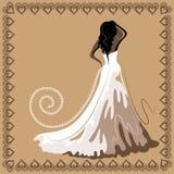 Hochzeitskarte 7 Lizenzfreies Stockbild