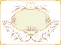 Hochzeitskarte Lizenzfreie Stockfotografie