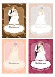 Hochzeitskarte mit Platz für Text Stockfoto