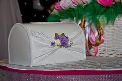Hochzeitskasten Lizenzfreie Stockbilder