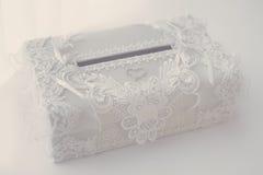 Hochzeitskasten Stockfotografie