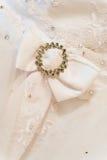 Hochzeitskleid Stockfotografie