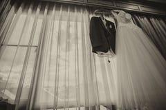Hochzeitskleid. Stockbilder