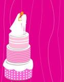 Hochzeitskuchen Stockbild