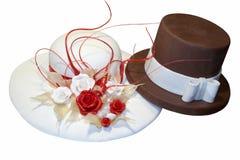 Hochzeitskuchen Lizenzfreies Stockfoto