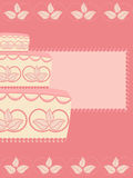 Hochzeitskuchen Lizenzfreie Stockbilder