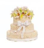 Hochzeitskuchen Lizenzfreie Stockfotografie