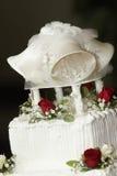 Hochzeitskuchenoberseite Lizenzfreies Stockbild
