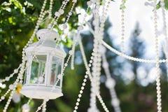 Hochzeitslaterne Lizenzfreies Stockbild