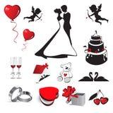 Hochzeitsliebe Lizenzfreie Stockfotos