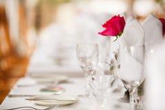 Hochzeitsort Stockfoto